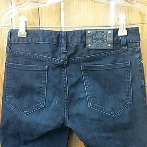 Tory Burch skinny jeans size 26 darkwash